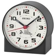 Seiko QHE907K Novak Djokovic Foundation Alarm Clock - Matt Black