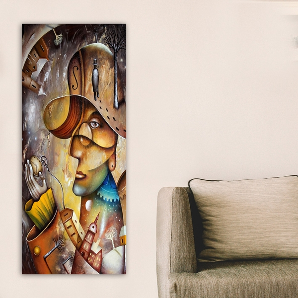 DKY41028564926_50120 Multicolor Decorative Canvas Painting