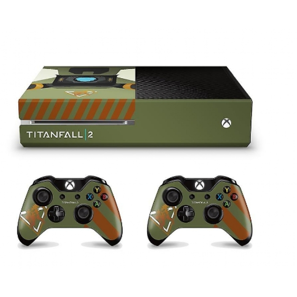 Titanfall 2 Official Marauder Corp Console Decal (Xbox One ... Official Xbox One Console