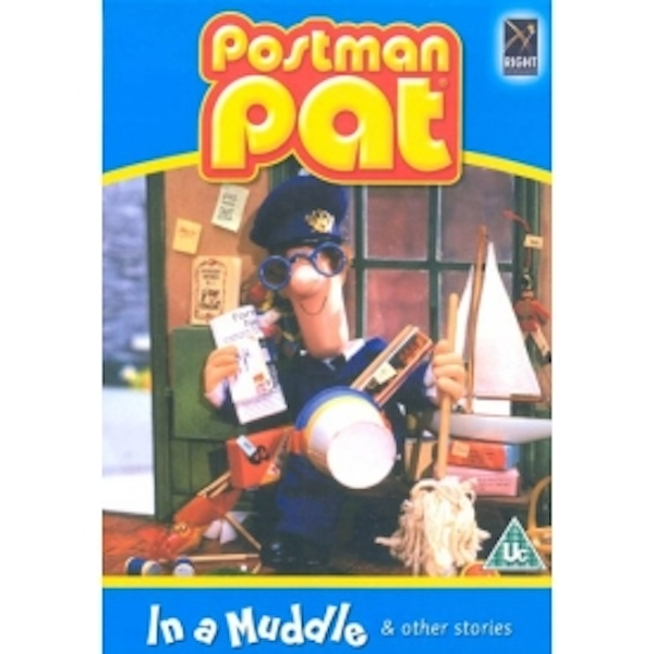 Postman Pat In A Muddle DVD
