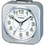 Casio Alarm Clock with Light and Snooze Silver