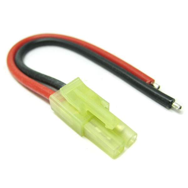 Etronix Male Micro Tamiya Connector With 10Cm 18Awg Silicone Wire