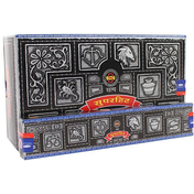 Box of 12 Packs of Super Hit Incense Sticks by Satya