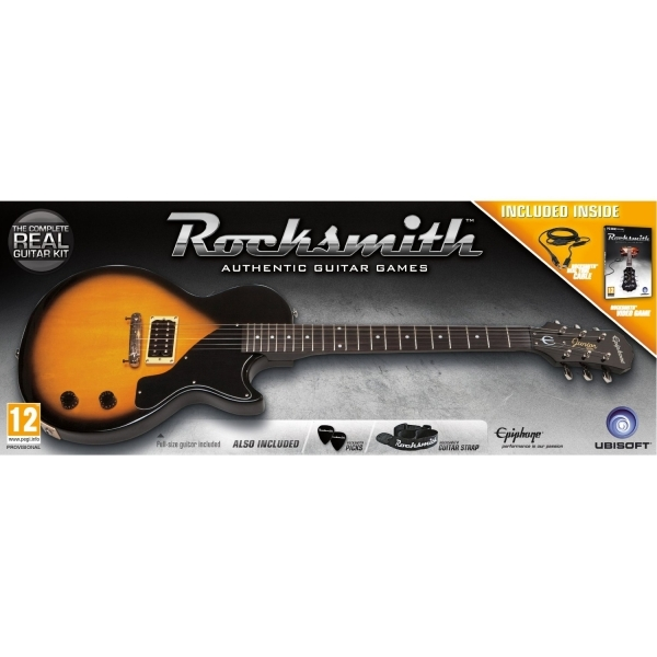 Rocksmith and Epiphone Les Paul Guitar Game PC
