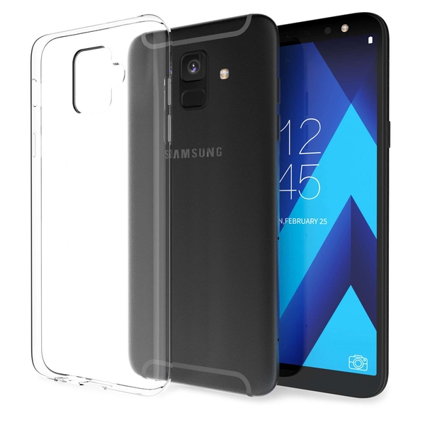 CASEFLEX SAMSUNG GALAXY A6 (2018) ULTRA THIN TPU GEL - CLEAR