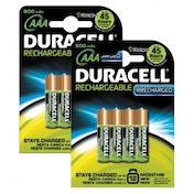 Duracell BUN0043A Pre-Charged AAA 800mAh 8 Pack