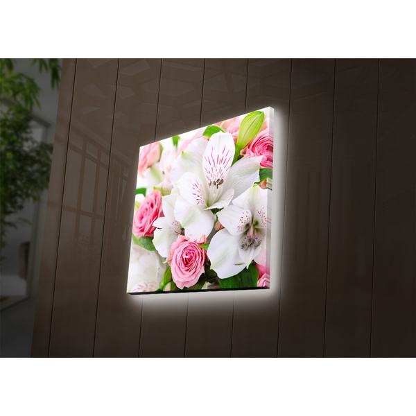 2828DACT-28 Multicolor Decorative Led Lighted Canvas Painting