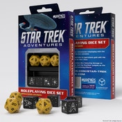 Star Trek Custom Dice Adventures Accessories - Gold