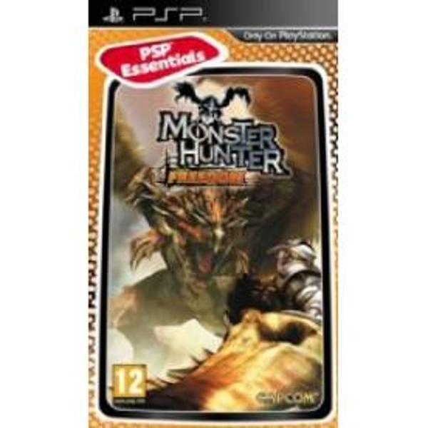 Monster Hunter Freedom Game Essentials PSP - Image 1