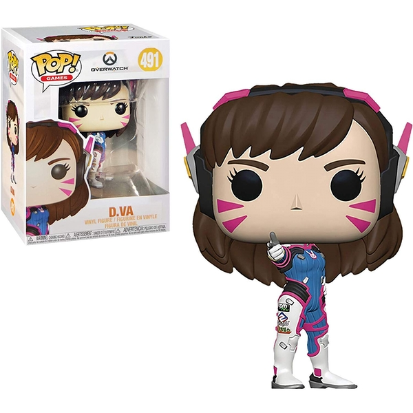 D.VA (Overwatch) Funko Pop! Vinyl Figure #491