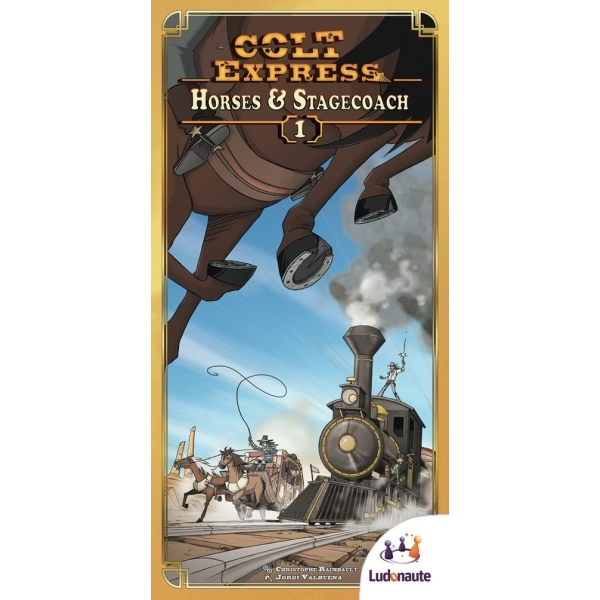 Colt Express Horses & Stagecoach Expansion Board Game