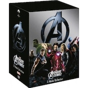 Ex-Display Marvel's The Avengers 6 Disc DVD Box Set Used - Like New