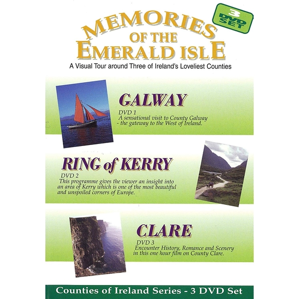 Memories Of The Emerald Isle - Galway / Ring of Kerry / Clare DVD