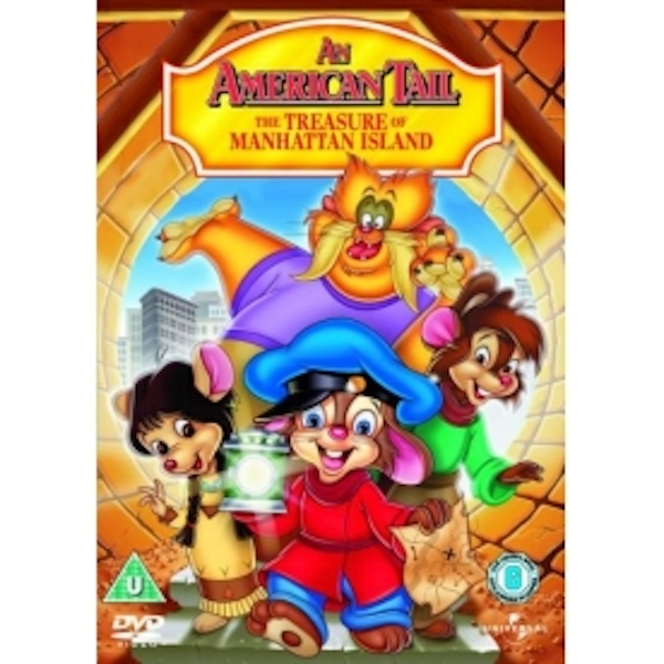 An American Tail 3: The Treasure Of Manhattan Island DVD
