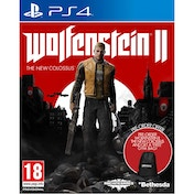 Wolfenstein II The New Colossus PS4 Game (with Wolfenstein 2 Gym Bag)