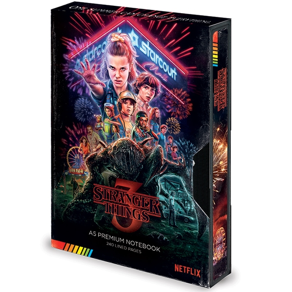 Stranger Things - S3 VHS A5 Notebook