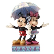 Rainy Day Romance (Mickey & Minnie Mouse) Disney Traditions Figurine