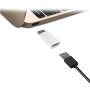Jivo Technology Micro USB to USB-C Adaptor- White