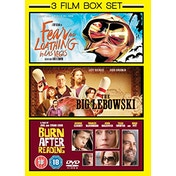 Fear And Loathing In Las Vegas/The Big Lebowski/Burn After... DVD