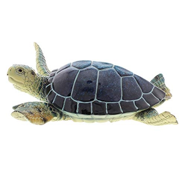 Naturecraft Figurine - Blue Turtle