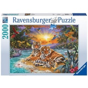 Ravensburger Tiger Family 2000 Piece Jigsaw puzzle