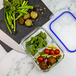 Set of 4 Glass Meal Prep Containers| M&W 2 Compartment - Image 6