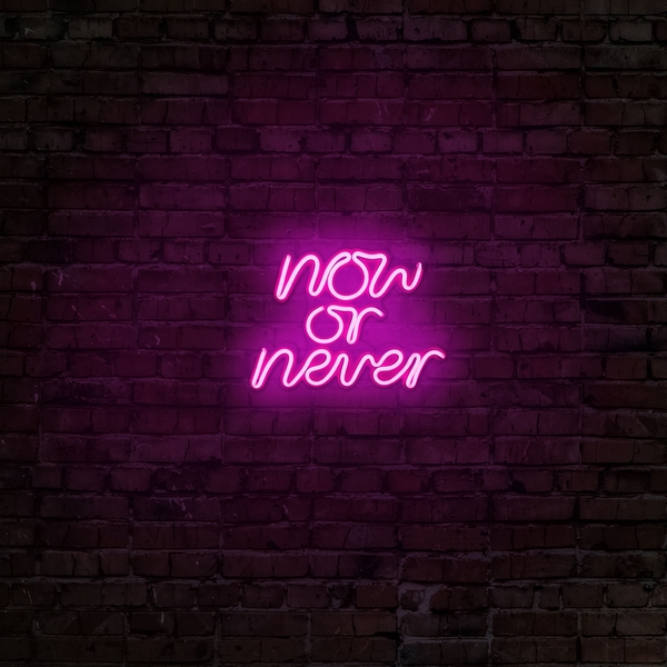 Now or Never - Pink Pink Wall Lamp