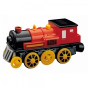 Wooden Railway Red Motorised Engine
