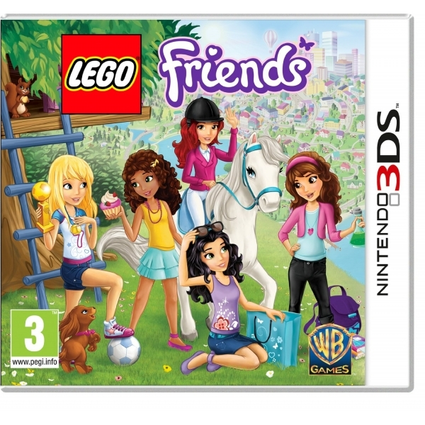 Lego Friends Game 3DS