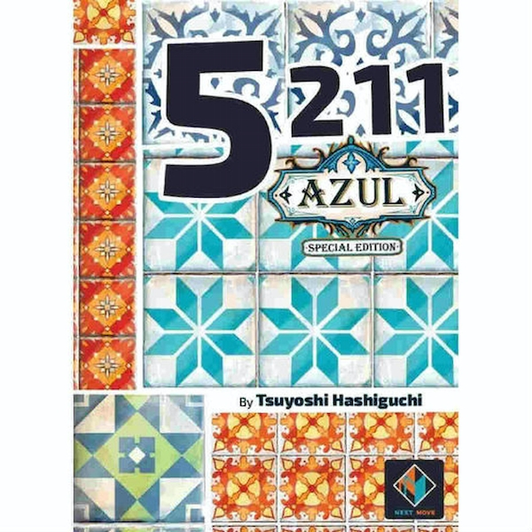 5211 - Azul Special Edition Card Game