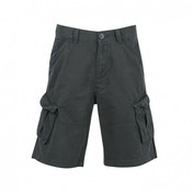 Firetrap Combat Shorts Tan Large Vintage Black