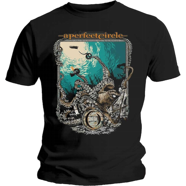 A Perfect Circle - The Depths Unisex Small T-Shirt - Black