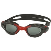 SwimTech Argentum Adult Goggles Black/Red