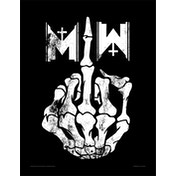Motionless In White - Middle Finger Framed 30 x 40cm Print