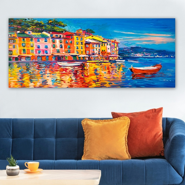 YTY285852095_50120 Multicolor Decorative Canvas Painting