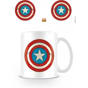 Marvel Retro Captain America Shield Mug