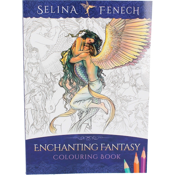 Selina Fenech Gothic Fantasy Pixies Colouring Book