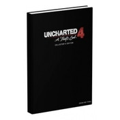 Uncharted 4 A Thiefs End Collectors Edition Strategy Guide Hardcover