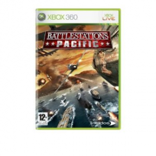 Battlestations Pacific Game Xbox 360