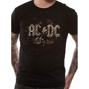 AC/DC Rock Or Bust T-Shirt XX-Large - Black