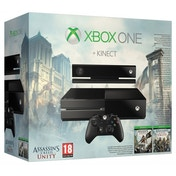 Xbox One Kinect Console with Assassin's Creed Unity & Assassin's Creed 4 Black Flag