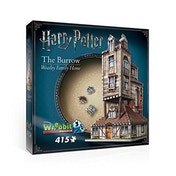 Harry Potter Hogwarts The Burrow Weasley Family Home 3D Jigsaw