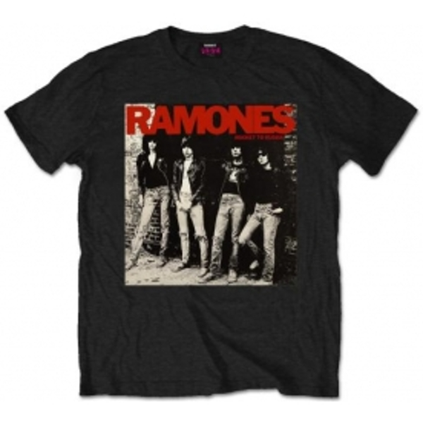 Ramones Rocket To Russia Mens Black T Shirt: Medium
