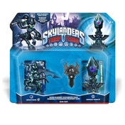 Knight Mare, Museum, and Spider Trap (Skylanders Trap Team) Dark Triple Character Pack