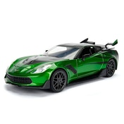 Crosshairs Corvette Stingray (Transformers The Last Knight) Diecast Model