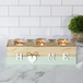 Home Tealight Candle Holder Blue | M&W - Image 2