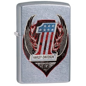 Zippo Harley-Davidson One Street Chrome Windproof Lighter