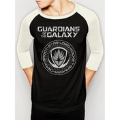 Guardians Of The Galaxy Vol 2 - Crest Unisex X-Large T-Shirt - Black