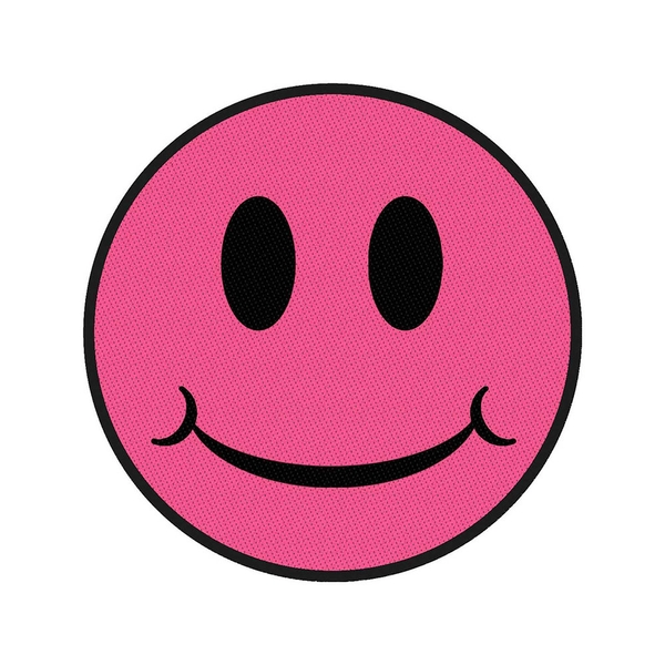 Generic - Pink Smiley Standard Patch