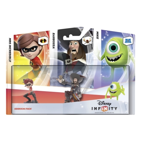 Disney Infinity 1.0 Sidekicks 3 Pack